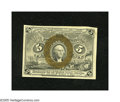 Fractional Currency:Second Issue, Fr. 1233 5c Second Issue Very Choice New. This note comes about as close to the gem grade as it can get without actually rea...