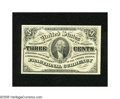 Fractional Currency:Third Issue, Fr. 1227 3c Third Issue Superb Gem New. A glorious example of this much scarcer dark background note that is rarely seen in ...
