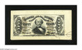 Fractional Currency:Third Issue, Fr. 1328SP Wide Margin Face Specimen 50c Third Issue Spinner About New. This example has autographed signatures of Colby and...
