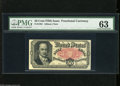 Fractional Currency:Fifth Issue, Fr. 1381 50c Fifth Issue PMG Choice Uncirculated 63. Except forbeing tight at the top, this Crawford note appears to be a n...