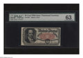 Fractional Currency:Fifth Issue, Fr. 1381 50c Fifth Issue PMG Choice Uncirculated 63. A very niceCrawford note which does not have the margins to support a ...