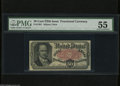 Fractional Currency:Fifth Issue, Fr. 1381 50c Fifth Issue PMG About Uncirculated 55. A lightlycirculated Crawford note with good margins and excellent eye a...