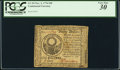 Colonial Notes:Continental Congress Issues, Benjamin Levy Signed Continental Currency November 2, 1776 $30 PCGSVery Fine 30.. ...