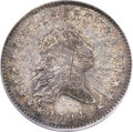 Early Half Dollars, 1794 50C O-107, T-5, R.6 -- Scratched -- NCS. VF Details....