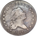 Early Half Dollars, 1794 50C O-104, T-11, R.5, VG8 NGC....
