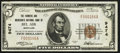 National Bank Notes:Maryland, Bel Air, MD - $5 1929 Ty. 1 The Farmers & Merchants NB Ch. #9474. ...