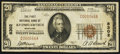 National Bank Notes:Maryland, Kitzmillerville, MD - $20 1929 Ty. 1 The First NB Ch. # 8302. ...