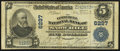 National Bank Notes:Maryland, Snow Hill, MD - $5 1902 Plain Back Fr. 598 The Commercial NB Ch. #6297. ...