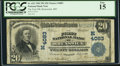 National Bank Notes:Missouri, Brunswick, MO - $20 1902 Plain Back Fr. 652 The First NB Ch. #(M)4083. ...