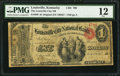National Bank Notes:Kentucky, Louisville, KY - $1 Original Fr. 380 The Louisville City NB Ch. #788. ...