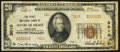 National Bank Notes:Maryland, Havre de Grace, MD - $20 1929 Ty. 2 The First NB Ch. # 3010. ...
