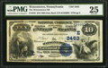 National Bank Notes:Pennsylvania, Watsontown, PA - $10 1882 Date Back Fr. 545 The Watsontown NB Ch. #(E)2483. ...