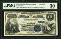 National Bank Notes:Pennsylvania, Elizabethville, PA - $10 1882 Date Back Fr. 545 The First NB Ch. #(E)5563. ...