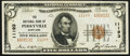 National Bank Notes:Maryland, Perryville, MD - $5 1929 Ty. 2 The NB of Perryville Ch. # 11193....