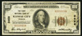 National Bank Notes:Missouri, Kansas City, MO - $100 1929 Ty. 1 The First NB Ch. # 3456. ...