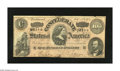 Confederate Notes:1864 Issues, T65 $100 1864. The back is faded on this once mounted C-note that was signed by (Miss) A. (P.) Pellet and (Miss) M(aria) Sel...
