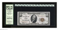 Error Notes:Ink Smears, Fr. 1860-G $10 1929 Federal Reserve Bank Note. PCGS Very Choice New64PPQ. The third-party holder cannot conceal the bold em...