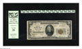 National Bank Notes:Colorado, Denver, CO - $20 1929 Ty. 2 The First NB Ch. # 1016. This $20 isone of only eight Type 2 Twenties documented on this ba...