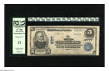 National Bank Notes:Kansas, Abilene, KS - $5 1902 Plain Back Fr. 600 The Abilene NB Ch. # 3777. The signatures have faded on this note that is one o...