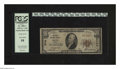 National Bank Notes:Maine, Bath, ME - $10 1929 Ty. 1 The First NB Ch. # 2743. W.S. Shorey and Oliver Moses were able to have their signatures on bo...