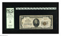 National Bank Notes:Vermont, Brandon, VT - $20 1929 Ty. 2 The First NB Ch. # 278. This is one of 16 Small in the census with only two other Type 2 Tw...