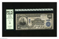 National Bank Notes:West Virginia, Wheeling, WV - $10 1902 Plain Back Fr. 624 The NB of West VirginiaCh. # 1424. Here is a great bank title for a state co...
