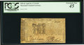 Colonial Notes:Maryland, Maryland April 10, 1774 $2/9 PCGS Extremely Fine 45.. ...
