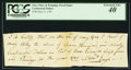 Colonial Notes, Class Fines & Poundage Fiscal Paper May 12, 1781 $790 PCGSExtremely Fine 40.. ...
