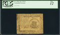 Colonial Notes:Continental Congress Issues, Continental Currency May 10, 1775 $1 PCGS Fine 12.. ...