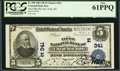 National Bank Notes:New York, New York, NY - $5 1902 Plain Back Fr. 598 The Fifth NB Ch. # (E)341. ...