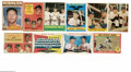 Baseball Cards:Lots, 1957-1963 Topps Mickey Mantle Group Lot of 10. Includes 1957 #407Yankees Power Hitters; 1958 #418 World Series Batting Foes...