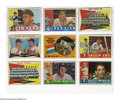Baseball Cards:Lots, 1960 Topps Baseball Group Lot of 466. Lot consists of 466 cards(304 unique) from the 1960 Topps baseball set. Card numbers ...