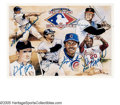 "Autographs:Sports Cards, Upper Deck Heroes Of Baseball Signed Card. Issued in 1991 by theUpper Deck company to promote their ""Heroes Of Baseball"" se..."