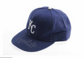 Autographs:Others, George Brett Signed Cap. Nice silver signature from the Kansas Citygreat finds a home on a New Era Pro Model Royal cap. Wit...