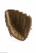 Autographs:Others, Phil Rizzuto Signed Personal Model Glove. Regent 5416 Phil Rizzutomodel glove is signed in perfect black sharpie and comes ...