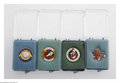 Baseball Collectibles:Others, 1961-77 All-Star Game Press Pins Lot of 15. Acquired directly froma former Balfour employee, this fine selection of pins r...