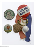 Baseball Collectibles:Others, 1920's-40's Baseball Pinbacks Lot of 9. Intriguing assortment ofpinbacks is heavy on the Chicago White Sox, a popular comm...