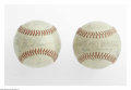 Autographs:Baseballs, 1940's-50's Team Signed Baseballs Lot of 2 from the Casey StengelCollection. 1) Circa 1945 Chicago White Sox team signed b...