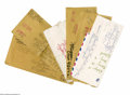 Autographs:Others, Casey Stengel Handwritten Envelopes Lot of 7 from the Casey Stengel Collection. Selection of envelopes each have handwritin...