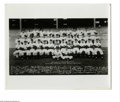 Autographs:Photos, Casey Stengel Signed Yankees Photograph from the Casey StengelCollection. Team shot of the 1949 Yanks is signed by the tea...