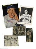 Autographs:Photos, Casey Stengel Signed Magazine Photographs Lot of 5 from the CaseyStengel Collection. Five strong ink and marker autographs...