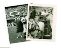 Baseball Collectibles:Photos, Casey Stengel Mets Photographs Lot of 7 from the Casey Stengel Collection. Best is a photo of Casey in a gladiatorial pose ...