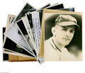 Baseball Collectibles:Photos, Casey Stengel Photographs Lot of 11 from the Casey Stengel Collection. Best in the group is a soulful portrait by Burke (no...