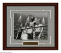 Boxing Collectibles:Autographs, Cassius Clay Signed Photograph. Impressive Cassius Clay blacksharpie signed 11x14 photograph framed and matted, taken durin...