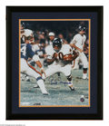 """Football Collectibles:Balls, Gale Sayers Signed Photograph. Impressive 16x20 framed photograph of the """"Kansas Comet"""" Gale Sayers signed in perfect 10/10 ..."""