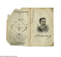 """Autographs:Others, 1887 A.G. Spalding Signed """"Spalding's Baseball Guide."""" What better home for an autograph from this early baseball pioneer t..."""