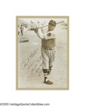 Autographs:Photos, 1935 Babe Ruth Signed Photograph. While it broke many hearts (including, to a degree, his own) to see the Babe suited up in...