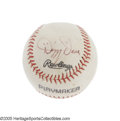 Autographs:Baseballs, 1960's Dizzy Dean Single Signed Baseball. The ringleader of the historic Gashouse Gang of 1934, Dean was once quoted as say...