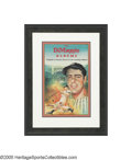Autographs:Others, Joe DiMaggio Signed Poster from the Sarabella Collection. Thisadvertising poster created to promote the recently released ...
