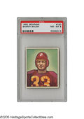 Football Cards:Singles (1950-1959), 1950 Bowman Sammy Baugh #100 PSA NM-MT 8. A classic portrait of this early Hall of Famer, suited up and ready for battle. ...
